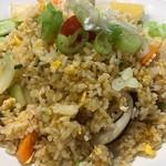 タイ料理サバイ・サバイ - カオパッ・タレー(シーフード炒飯)