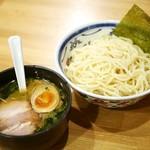 麺座 風水 - ゆずつけめん 味玉付き¥850