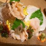魚や一丁 - 貝三昧(1,680円+税)2018年7月