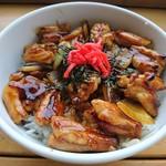 チキンペッカー - 料理写真:チキチキ丼(たれ)(610円)