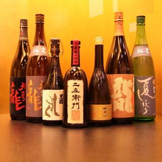 日本酒唎酒師による日本酒と料理のペアリング
