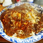 五飯屋 - 料理写真:ハンバーグオムライス