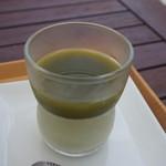 90555992 - 茶畑プリン(かぶせ茶)