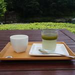 90556026 - 茶畑プリン(かぶせ茶)