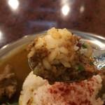 アララギ - ひよこ豆入り豚肉のキーマカレー