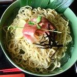 かみあり製麺 - 泡沫雲丹つけ麺の麺(250g・冷)