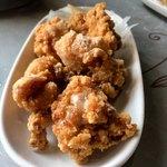 かみあり製麺 - 鶏の唐揚げ