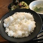 ぴゅあ - 国産牛カルビランチ