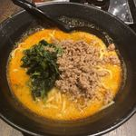 地獄の担々麺 護摩龍 - 天竜担々麺(1辛)