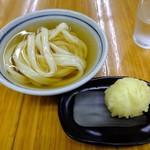 純手打ち讃岐うどん 蓮 - 料理写真:ひやひや、半熟玉子天