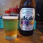 屋台安兵衛 - 瓶ビール♪
