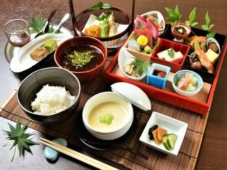 食彩 あさ乃 - 昼:食彩 御膳(一例)