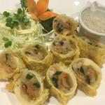 中華料理 大福園 - 特製海老春巻き