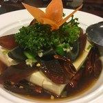 中華料理 大福園 - ピータン豆腐