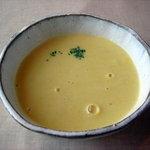 ピノピアノ - 自家栽培コーンのスープ