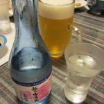 遊膳ききつ - 越乃雪月花&生ビール