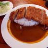 ベイリーフ - 料理写真:牛カツカレー・大盛(1030円)