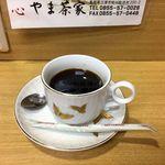 90563042 - 定食・カレーにサービスで付くコーヒー