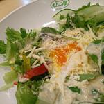 ポムの樹 - 温玉サラダ