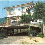 90563253 - 民泊(川の宿)…スロープを上がった2階が玄関です