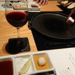 90563557 - 赤ワイングラス