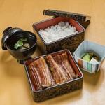 うな明 - 料理写真:鰻重・Una-ju 特_TOKU