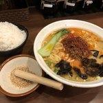 横浜らーめん 七七家 - 料理写真:担々麺 850円→クーポン利用500円