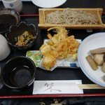 辰美庵 - 料理写真:(2018/5月)「野火止ばやしそば」