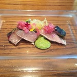munakata cuisine ishida - サワラの炙り