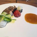 munakata cuisine ishida - タイのポワレ