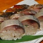 とろさば料理専門店 SABAR - 鯖棒寿司三種