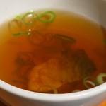 とろさば料理専門店 SABAR - 鯖のスープ