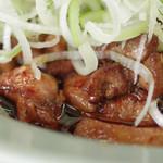 菜苑 - 純レバ丼アップ