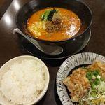 90567925 - 担々麺定食(1100円)