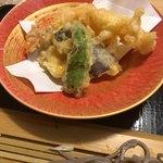 尾道和食レストラン ゆう家 - 天ぷらは私好みなんです