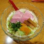 90569211 - 冷やし枝豆豆乳ラーメン 1000円