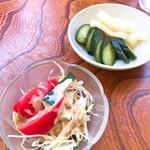 谷川ラーメン - チャーハンセット小鉢