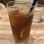 ユズカフェ - アイス柚子レモンティー