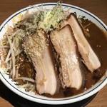 金澤濃厚豚骨ラーメン 神仙 - 爆濃金沢カレー麺