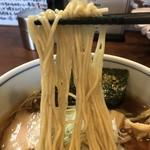 90576053 - 【2018.7.22】あさひや製麺の中加水の細麺。