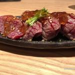 鮨 たくま - 佐賀牛炙り
