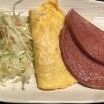 琉の介 - 沖縄そば定食のおかず
