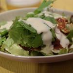 トリコカレー - サラダ付