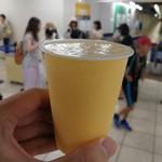 阪神梅田駅ジューススタンド - ミックスジュース150円