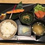 汐音 - 鮭定食