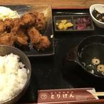 90586135 - からあげ定食:¥540