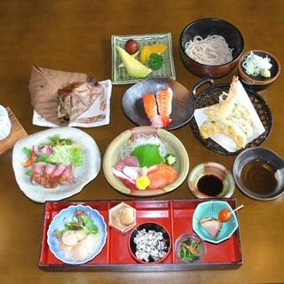 コース料理からお祝い等の各種料理に対応