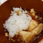 ラーメン哲史 - ミニ麻婆丼