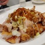 ラーメン哲史 - 若鶏ポンズ