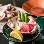 なか安 - お祝い膳(10,000円)
